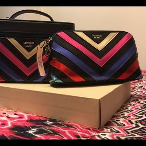 Victoria's Secret makeup bag a case set